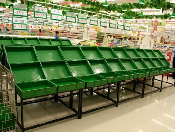 果蔬超市货架